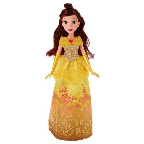 Купить Кукла Hasbro Disney Princess Королевский блеск Белль, 28 см, B5287, Куклы и пупсы
