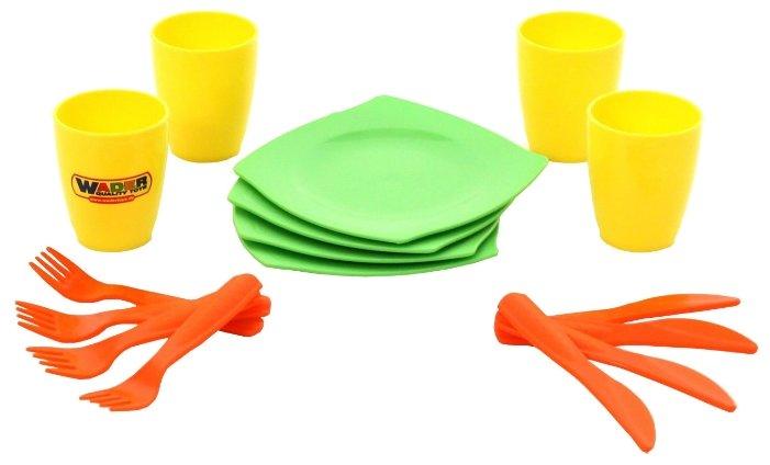 Набор посуды Полесье столовый на 4 персоны