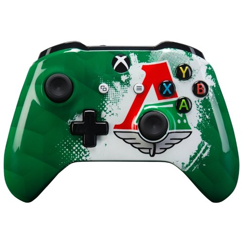 Фото - Геймпад RAINBO Xbox One Wireless Controller FC Lokomotiv геймпад rainbo xbox one wireless controller khl series салават юлаев