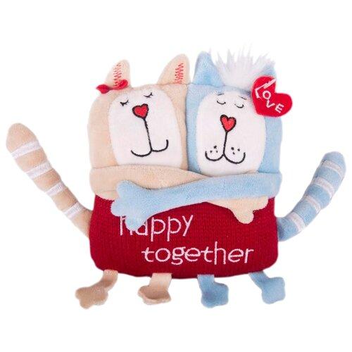 Купить Мягкая игрушка Gulliver Кот и кошка 15 см, Мягкие игрушки