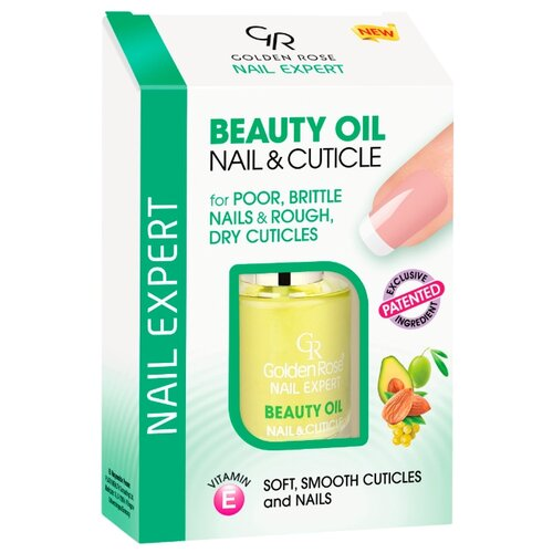 Масло Golden Rose Nail Expert Beauty Nail & Cuticle, 11 мл