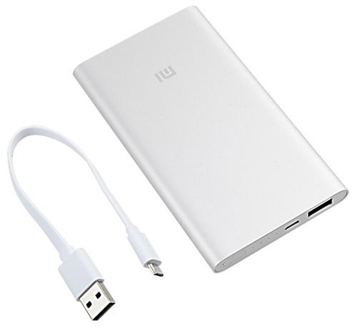 купить аккумулятор Xiaomi Mi Power Bank 5000 по выгодной цене на