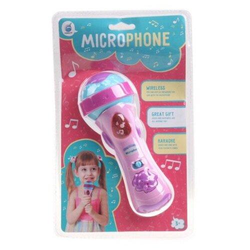 Купить Shantou Gepai микрофон 200010218 розовый/голубой, Детские музыкальные инструменты
