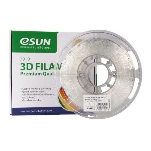 Фото - EFLEX(TPU) пруток ESUN 1.75 мм, 1 кг, белый pla пруток esun 1 75 мм желтый 1 кг