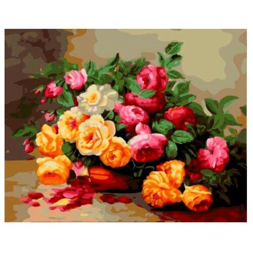 """Цветной Картина по номерам """"Красивый букет"""" 40х50 см (GX5934)"""