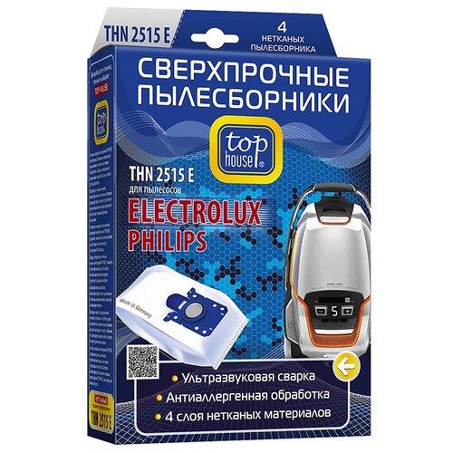 цена на Top House Пылесборники THN 2515 E белый 4 шт.