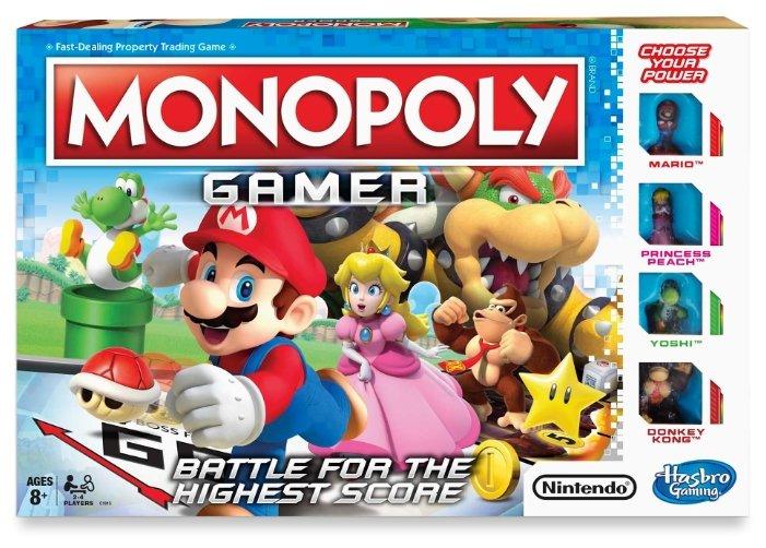 Настольная игра Hasbro games Monopoly Геймер