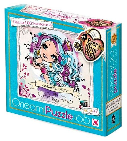 Пазл Origami Ever After High (00687), 100 дет.