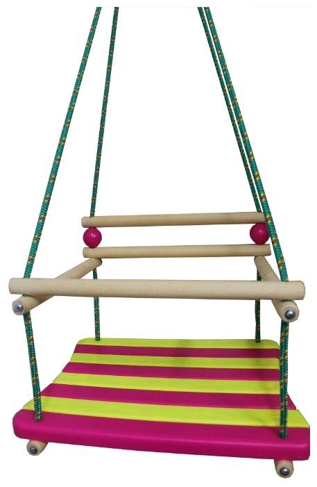 Механика Детские подвесные качели (со спинкой)