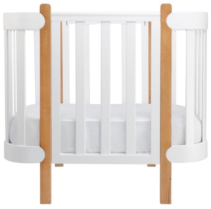 Кроватка-трансформер Happy Baby Mommy Lux Белый
