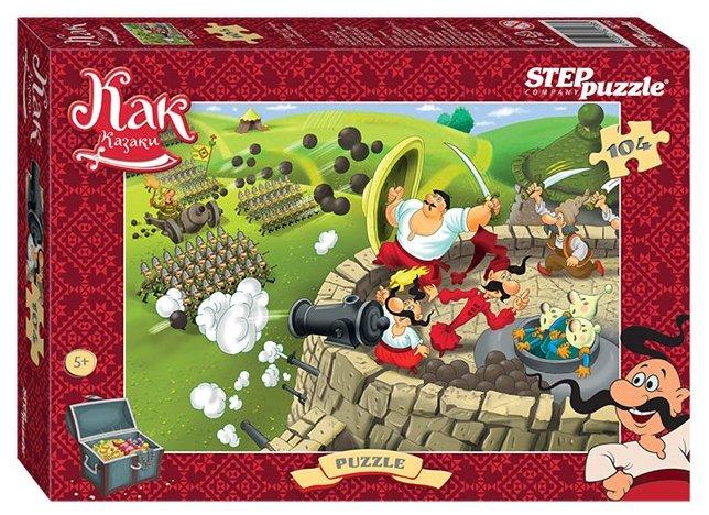 Пазл Step puzzle Киевнаучфильм Как казаки... (82138), 104 дет.