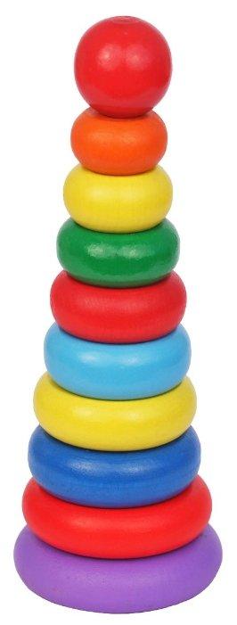 Пирамидка Краснокамская игрушка Кольцевая новая