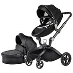 Универсальная коляска Hot Mom Leather (2 в 1)
