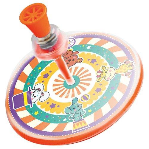 Юла Жирафики Цирк (68021) оранжевый игрушка chuc юла