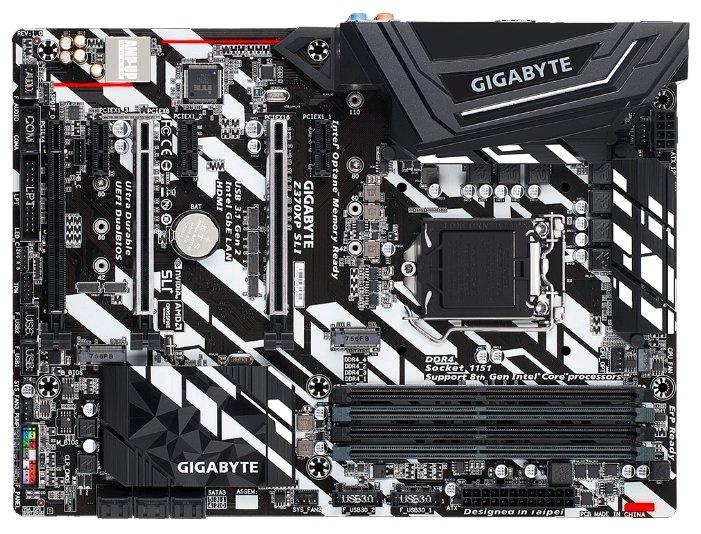GIGABYTE Z370XP SLI (rev. 1.0)