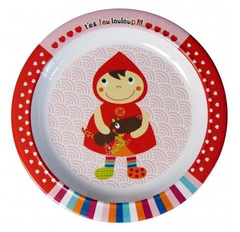 Тарелка Ebulobo Красная Шапочка (04EB0038)