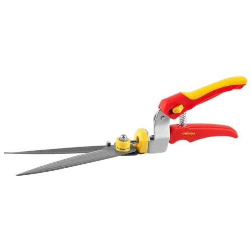 цена на Садовые ножницы GRINDA 8-422015 красный/желтый