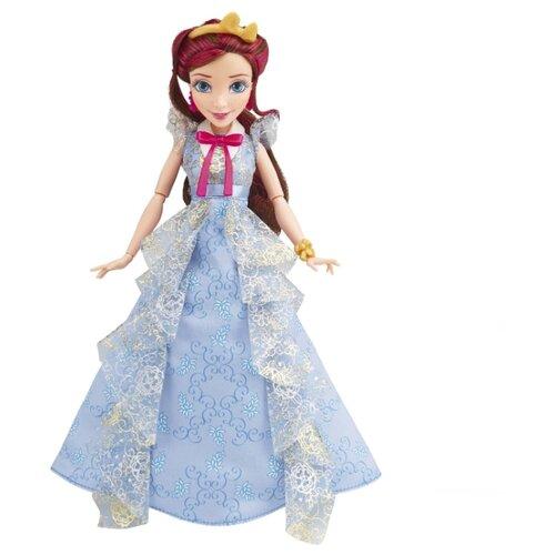 hasbro кукла одри светлые герои в платьях для коронации наследники disney Кукла Hasbro Disney Descendants Светлые герои в платье для коронации Джейн, 29 см, B3125