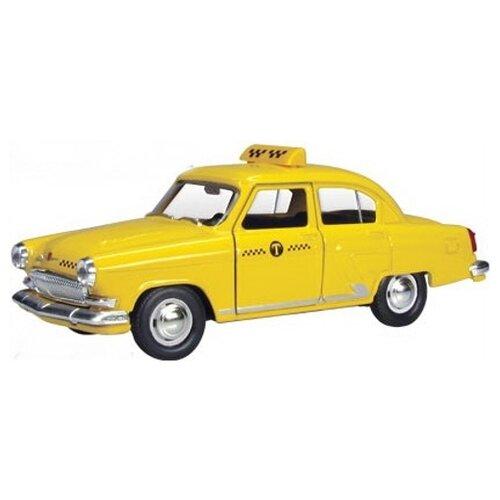 Легковой автомобиль Autotime (Autogrand) ГАЗ-21 Волга желтое такси (34107) 1:43 желтыйМашинки и техника<br>