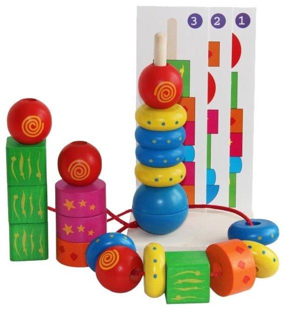 Пирамидка Краснокамская игрушка Геометрия