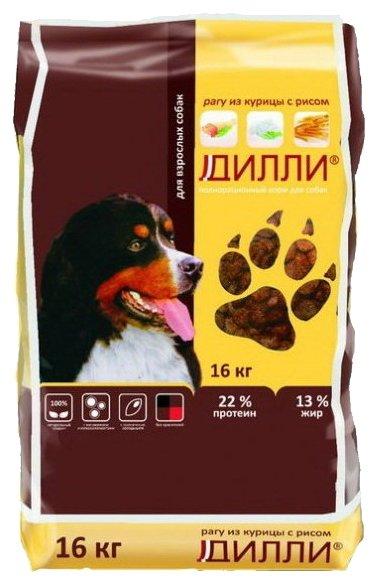 Корм для собак Дилли Pагу из курицы с рисом