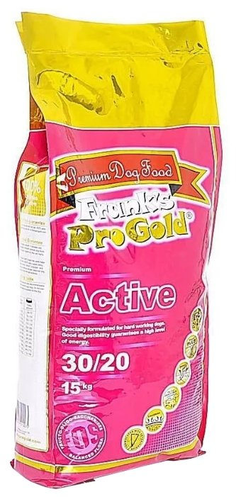 Корм для собак Frank's Pro Gold Active 30/20