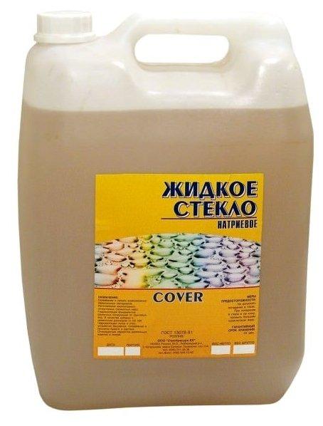 Добавка жидкое стекло COVER 042 10л/7кг