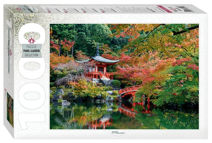 Пазл Step puzzle Park&Garden Collection Пагода (79117), 1000 дет.