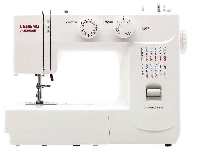 Швейная машина Janome Legend LE 17