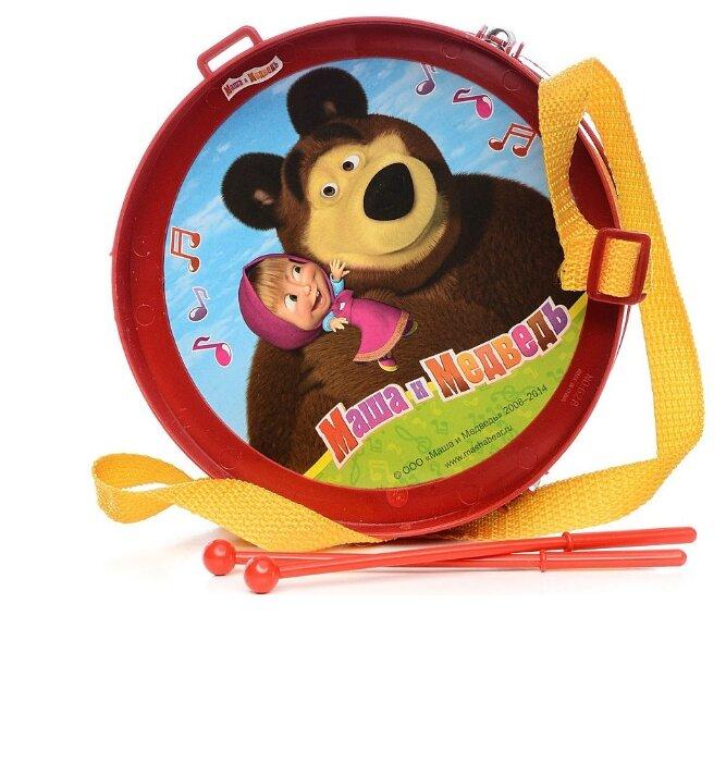 Играем вместе барабан Маша и Медведь 628