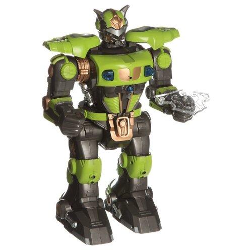 Купить Робот Shantou Gepai Боец 9838-1A зеленый/черный, Роботы и трансформеры