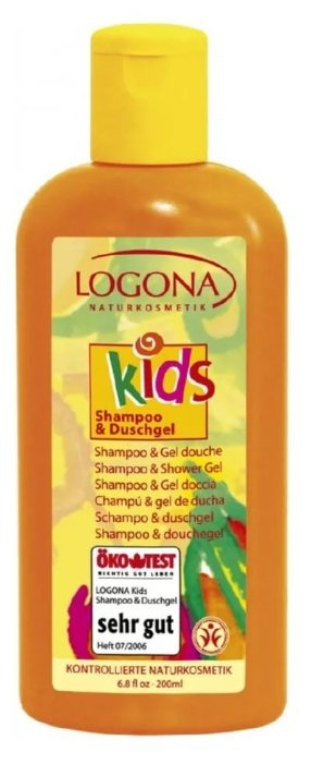 Logona Детский шампунь-гель для душа