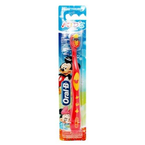 Купить Зубная щетка Oral-B KIDS от 2-4 лет, красный, Гигиена полости рта