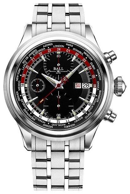 Мужские швейцарские наручные часы-хронограф philip zepter globhora (глобора).