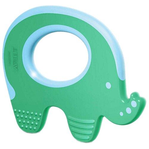 Купить Прорезыватель Philips AVENT Слоник SCF199/00 зеленый, Погремушки и прорезыватели