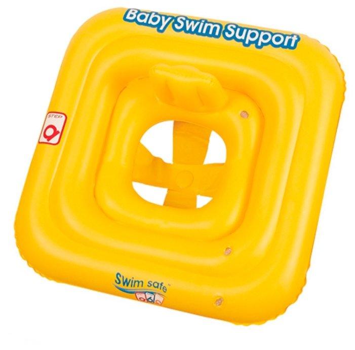 Плотик для плавания с сиденьем трёхкамерный Bestway Swim Safe ступень A, 32050 BW