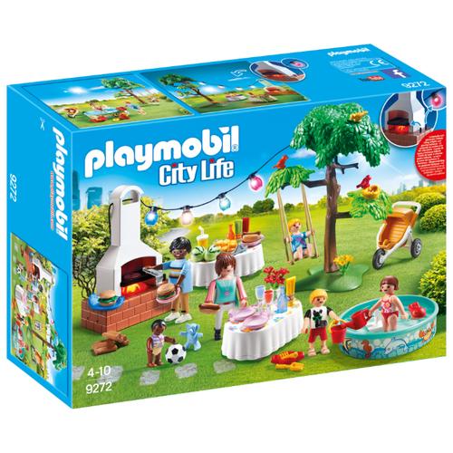 Набор с элементами конструктора Playmobil City Life 9272 Новоселье