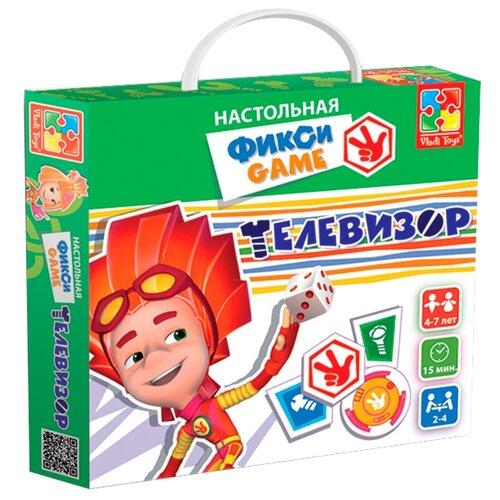 Купить Настольная игра Vladi Toys Фиксики Телевизор VT2108-02, Настольные игры