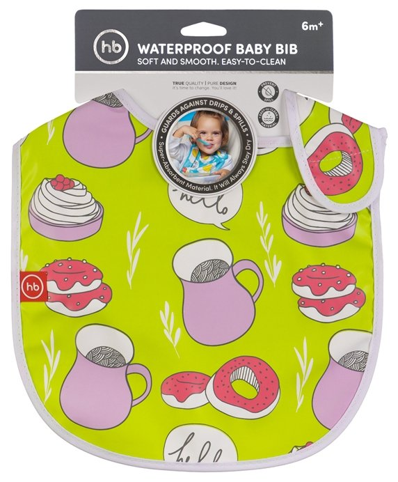 Happy Baby Нагрудник Expert Water-proof baby bib X1