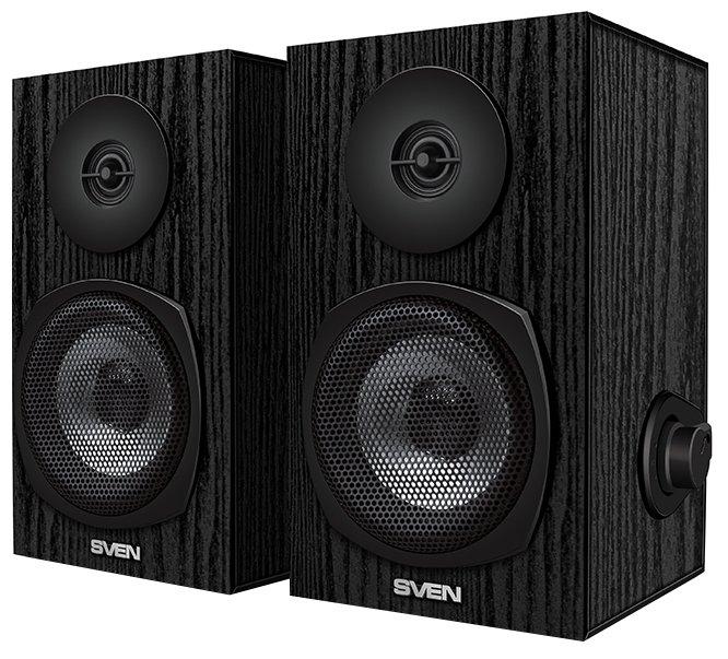 Колонки Sven SPS-575 2х3 Вт черный