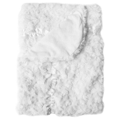 Купить Плед EKO Розочки PLE-02 80х90 см белый, Покрывала, подушки, одеяла