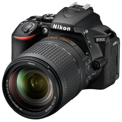 Фотоаппарат Nikon D5600 Kit черный AF-S 18-140mm f/3.5-5.6 VR