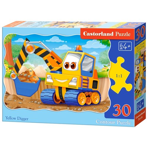 Купить Пазл Castorland Yellow Digger (B-03464), 30 дет., Пазлы