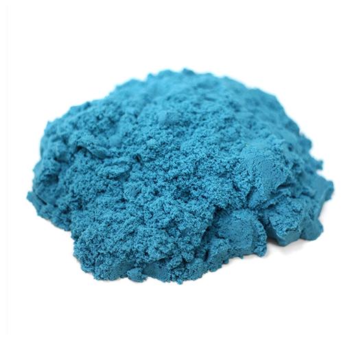 Кинетический песок LORI Домашняя песочница, голубой, 0.5 кг, пластиковый контейнер