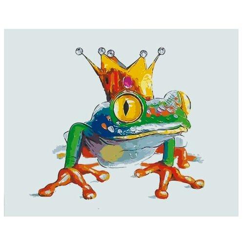 Цветной Картина по номерам Царевна-лягушка 20х30 см (MC1041)
