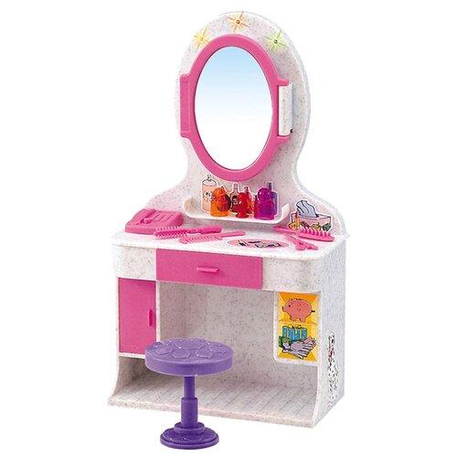 Купить Dolly Toy Магическое зеркало (DOL0803-019) серый/розовый, Мебель для кукол