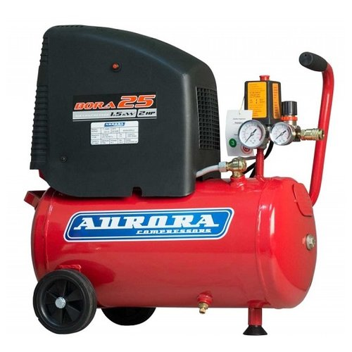 Фото - Компрессор безмасляный Aurora BORA-25 безмасляный, 24 л, 1.5 кВт компрессор безмасляный hyundai hyc 3050s 50 л 2 квт