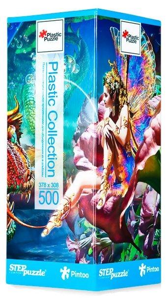 Пазл Step puzzle Plastic Collection Дракон и фея (98019), 500 дет.