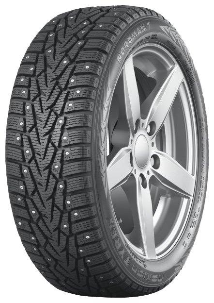 Автомобильная шина Nokian Tyres Nordman 7 215/55 R17 98T зимняя шипованная