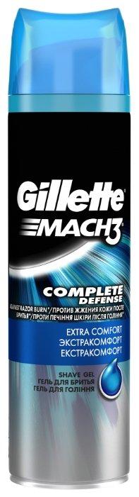 Гель для бритья Mach3 Complete Defense Extra Comfort